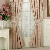 Chantilly Rose Curtain Pair