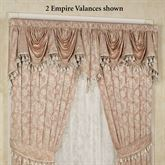Chantilly Rose Empire Valance