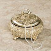 Polianna Decorative Box Silver