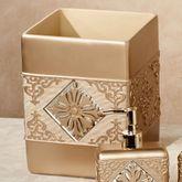 Majesty Wastebasket Champagne Gold