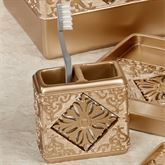 Majesty Toothbrush Holder Champagne Gold