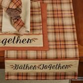 Gather Together Border Table Runner Terra Cotta 13 x 36