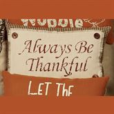 Always Thankful Rectangle Accent Pillow Ivory