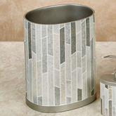 Titania Wastebasket Platinum