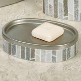 Titania Soap Dish Platinum