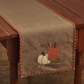 Pumpkin Patch Table Runner Terra Cotta 13 x 54