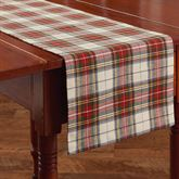 Through the Woods Table Runner Red 13 x 54