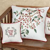 Friends Are Best Decorative Pillow White 10 Square