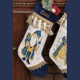 Santa Stocking Navy