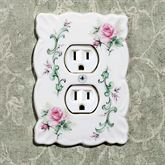 Rose Porcelain Single Outlet