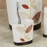 Alysia Toothbrush Holder Ivory