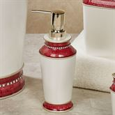 Chic Lotion Soap Dispenser Red