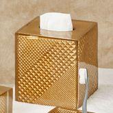 Diamond Elite Tissue Cover Gold