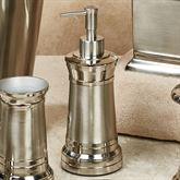 Lighthouse Lotion Soap Dispenser Aluminum