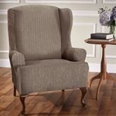 Brodie Stretch Slipcover Wing Chair