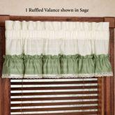 Madelyn Ruffled Valance 60 x 15