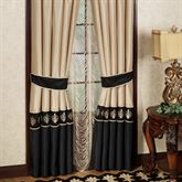 Onyx Empire Tailored Curtain Pair