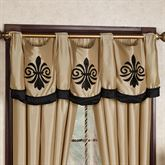 Onyx Empire Tailored Swag Valance