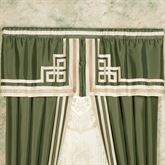 Wynhurst Tailored Valance Green Amber 60 x 20