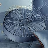 Color Classics Shirred Round Pillow