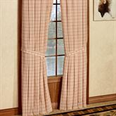 Tacoma Tailored Curtain Pair Crimson 80 x 84
