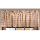 Tacoma Tailored Valance Crimson 72 x 16