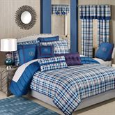 Stratton Mini Coverlet Set Indigo