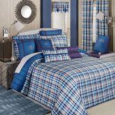 Stratton Grande Bedspread Set Indigo