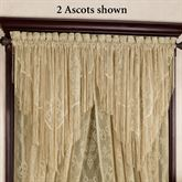 Queens Lace Ascot Valance