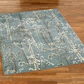 Blooming Branches Rectangle Rug