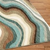 Larkhall Rug Runner Multi Earth 24 x 710