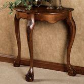 Raphael Console Table Antique Walnut