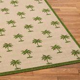 Groovy Palms Rug Runner Beige 23 x 76