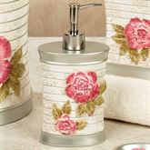 Spring Rose Lotion Soap Dispenser Light Cream