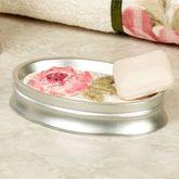 Spring Rose Soap Dish Light Cream