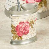 Spring Rose Toothbrush Holder Light Cream