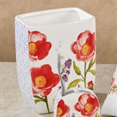 Merry May Wastebasket White