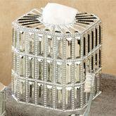 Glitz Silver Tissue Cover