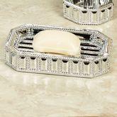 Glitz Silver Soap Dish
