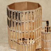 Glitz Gold Wastebasket
