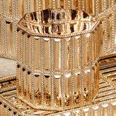 Glitz Gold Cotton Jar