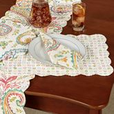 Adalynn Rectangle Placemats Multi Warm Set of Four