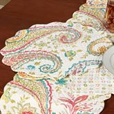 Adalynn Round Placemats Multi Warm Set of Four