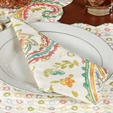 Adalynn Napkins Multi Warm Set of Four