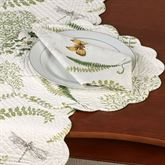 Althea Round Placemats Light Cream Set of Four