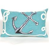 Marina Pillow Turquoise Rectangle