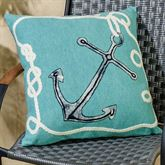 Marina Pillow Turquoise 20 Square