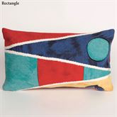 Nautical Flags Pillow Multi Bright Rectangle