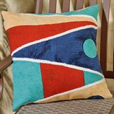 Nautical Flags Pillow Multi Bright 20 Square