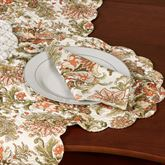 Jocelyn Round Placemats Multi Warm Set of Four
